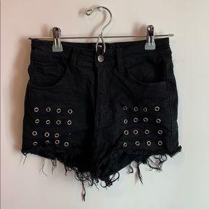 High Waist Fashion Nova Shorts
